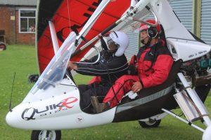 microlight trial lessons in the UK