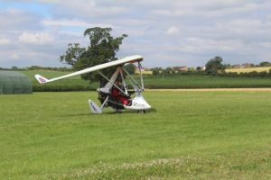 Microlight flying with Rob Keene